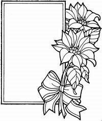 Coloriage Cadre Fleur.Coloriages Cadres Page 2
