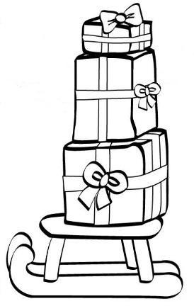 Noel La Luge Les Cadeaux
