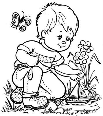 Bouquet de fleurs de printemps dessin - Dessin de printemps ...