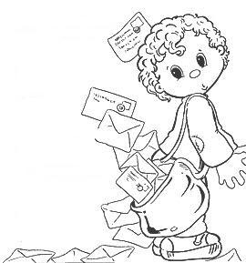 Coloriages les garcons page 2 - Facteur dessin ...