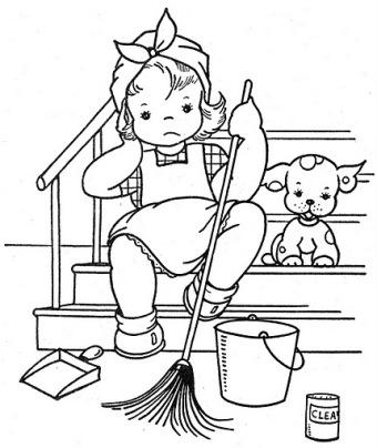 coloriages les filles page 7. Black Bedroom Furniture Sets. Home Design Ideas