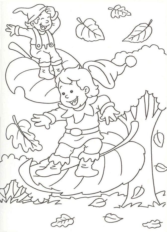 coloriages saison automne - Page 9